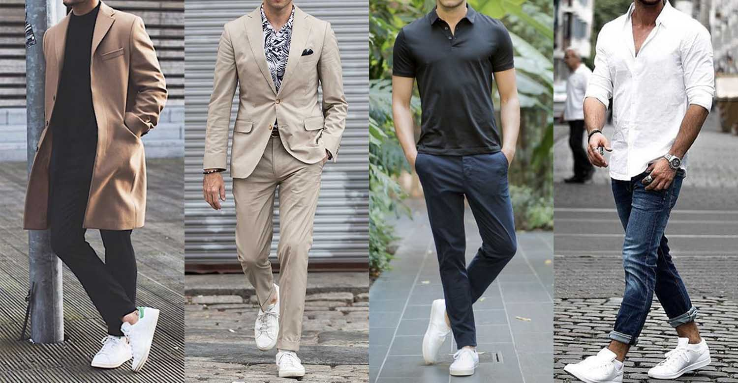 chunky sneakers outfit men