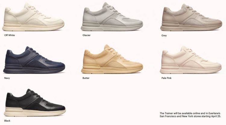 Tread By Everlane Chunky Sneaker Colorways