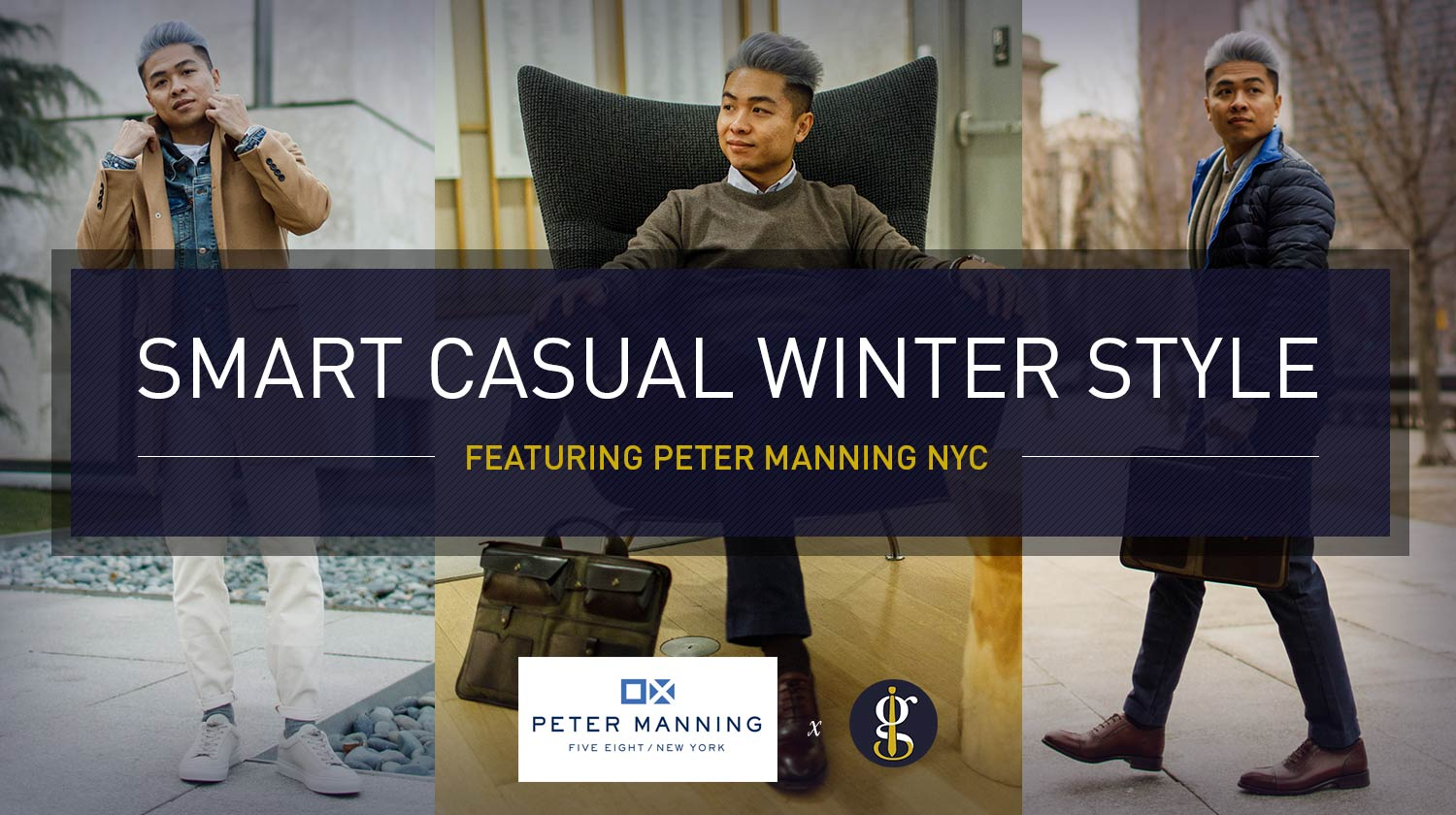 Smart Casual Outfits For Men Winter Style Inspiration 5 Versatile Looks