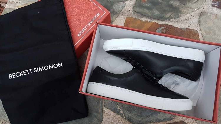 Beckett Simonon Reid Sneaker Packaging