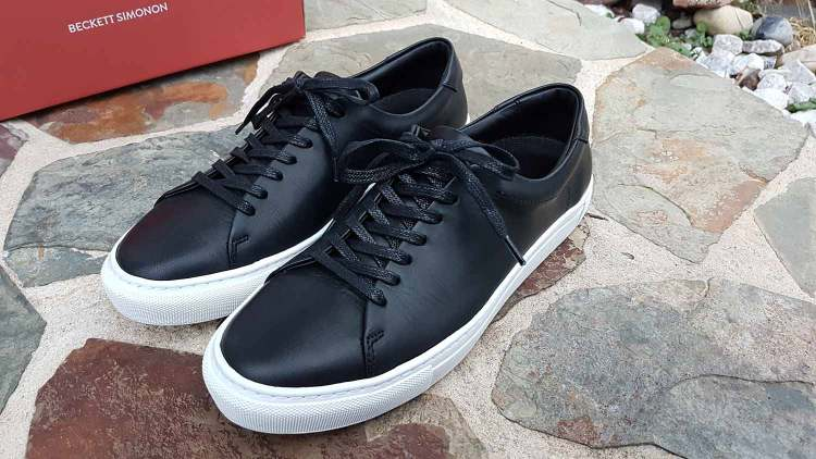 Black Low Top Reid Sneaker Laces