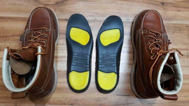 Thorogood Boots Poron Comfort Cushion Insole
