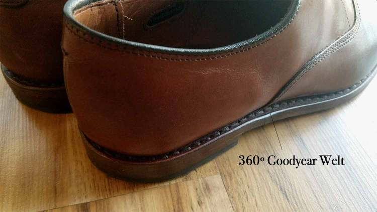 Allen Edmonds 360 Degree Goodyear Welt