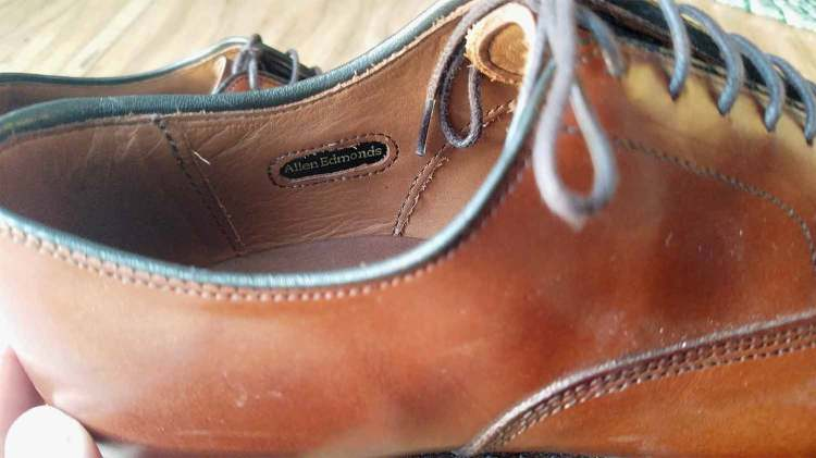 Allen Edmonds Stitching Details