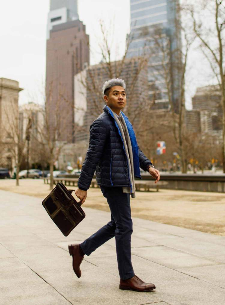 Smart Casual Outfit In The City