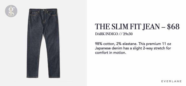 Everlane Slim Fit Jeans Review