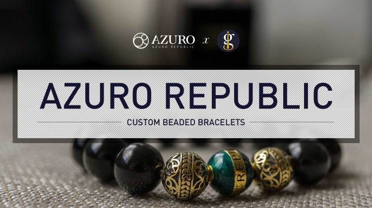 Azuro Republic: Carefully Crafted Custom Beaded Bracelets | GENTLEMAN WITHIN