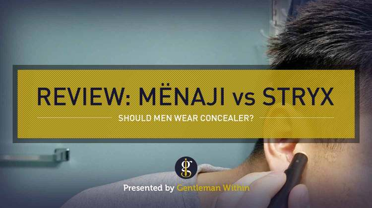 Review: Menaji Camo Concealer vs Stryx Concealer Tool (should men wear makeup?) | GENTLEMAN WITHIN