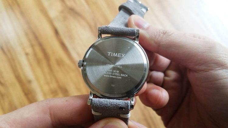 Timex Weekender Case Back