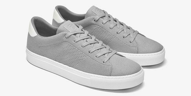 Greats Royale Knit Grey White