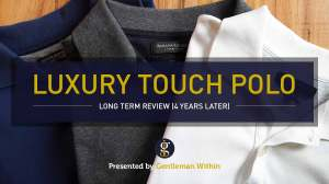 Banana Republic Luxury Touch Polo Review | GENTLEMAN WITHIN