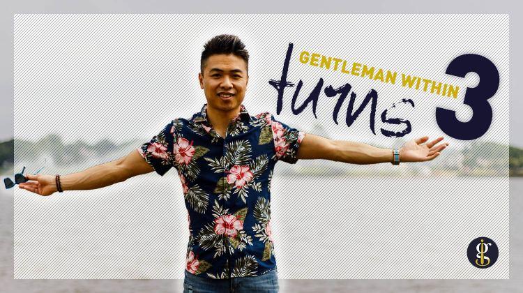 Gentleman Within Turns 3 Blogiversary   GENTLEMAN WITHIN