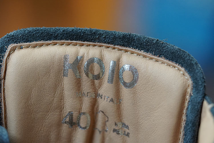 Koio High Top Made In Italy