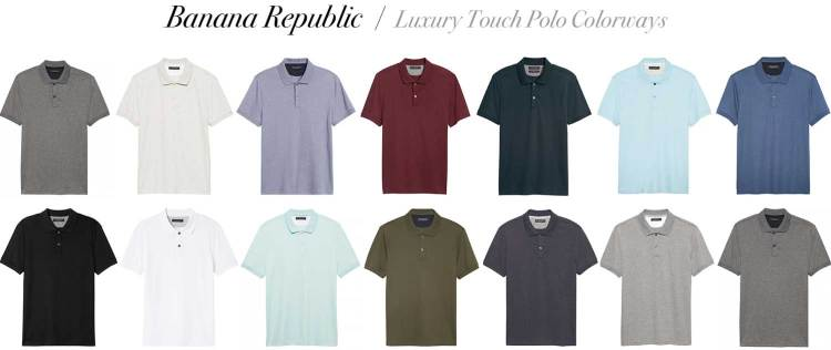 Luxury Touch Polo Shirt Colorways