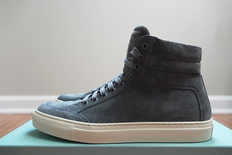 Primo Roccia High Top Side Profile Silhouette