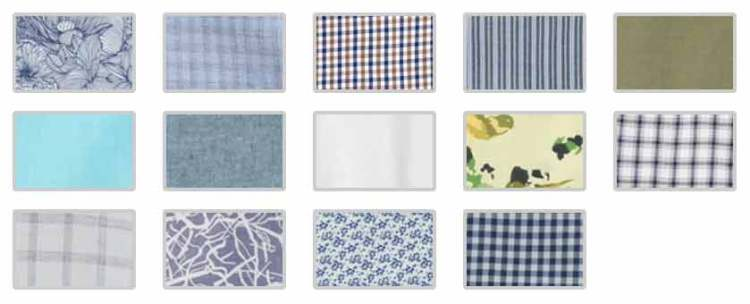 Summer Collection Swatch Patterns