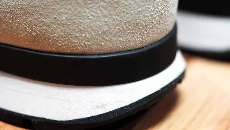 Nike Internationalist Plastic Heel Counter Detail