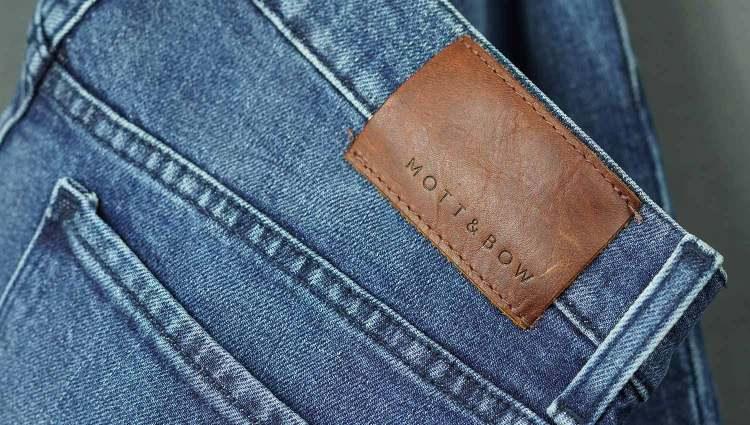 Mott & Bow Jeans Tag