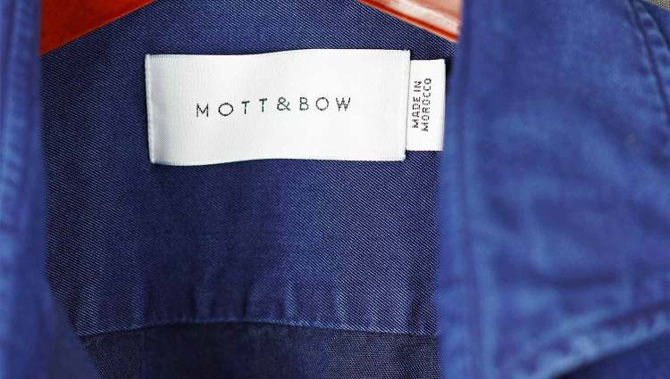 Mott And Bot Wythe Shirt Made In Morocco