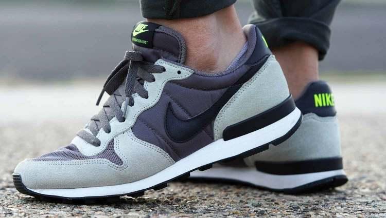 Nike Internationalist On Feet Side