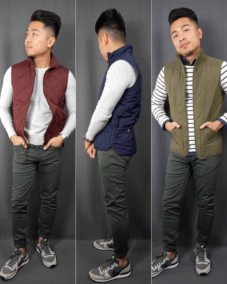 Nike Internationalist Quilted Vest Outfits