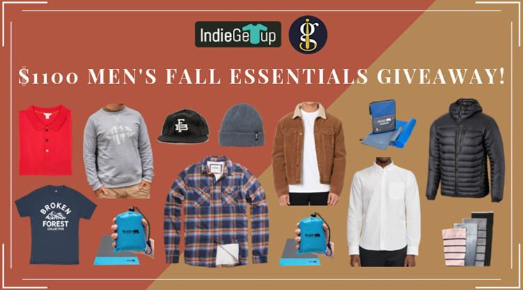 Men's Fall Essentials Giveaway 2019 (Win $1100 Worth of Autumn Gear) | GENTLEMAN WITHIN
