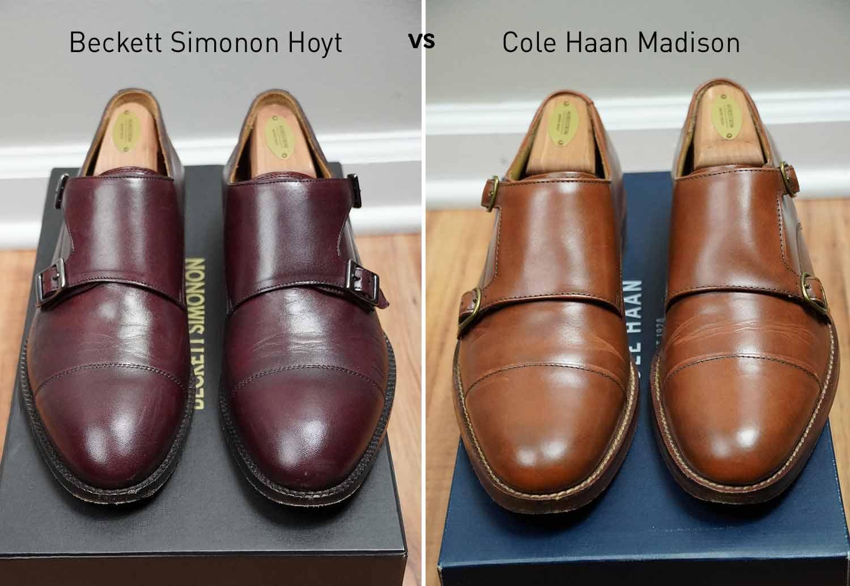 Cole Haan vs Beckett Simonon Hoyt