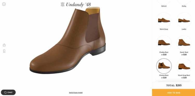 Undandy Shoe Designer Chelsea Boot