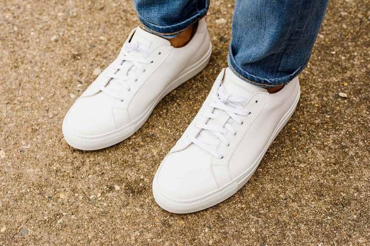 Ace Marks Duke Sneaker On Feet 2