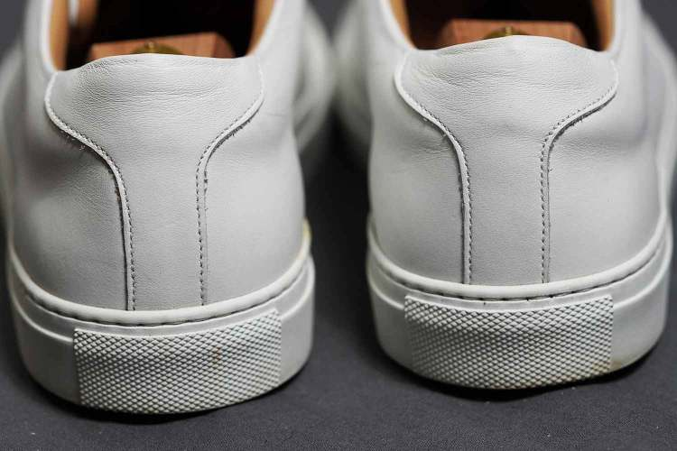 Ace Marks Leather Sneaker Margom Back Detail