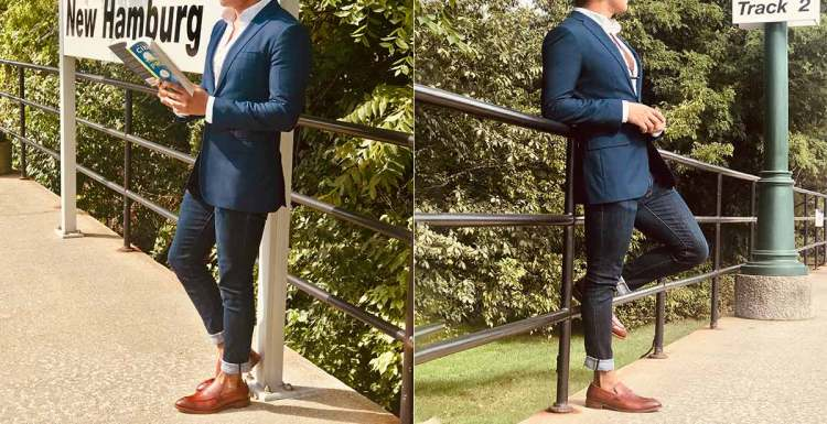 Cohen Loafer Smart Casual Oufit