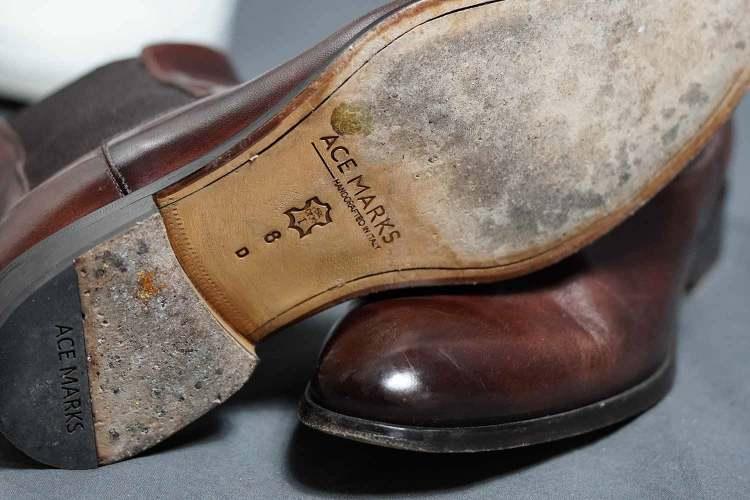 Troy Chelsea Boot Outsole Wear