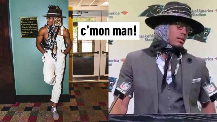 cam-newton-statement-scarf-fashion-trend