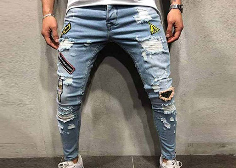 distressed jeans fashion trend