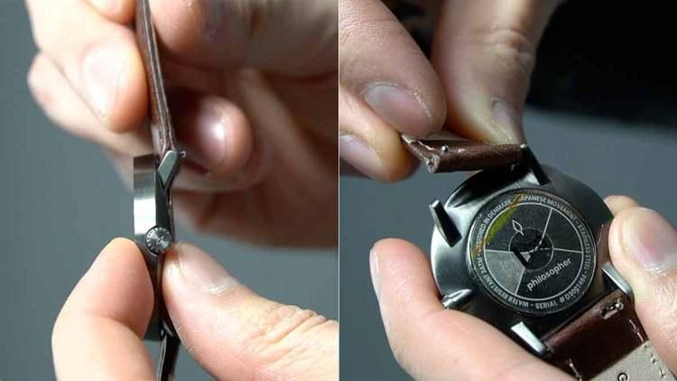 watch bezel quick release strap
