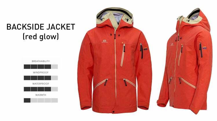elevenate backside jacket details
