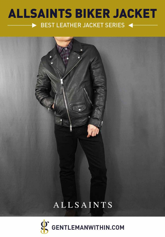 AllSaints Milo Biker Jacket Review (Best Leather Jacket Series) | GENTLEMAN WITHIN