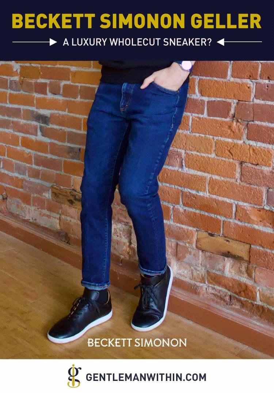 Beckett Simonon Geller Trainer Review (Luxury Wholecut Sneakers?) | GENTLEMAN WITHIN