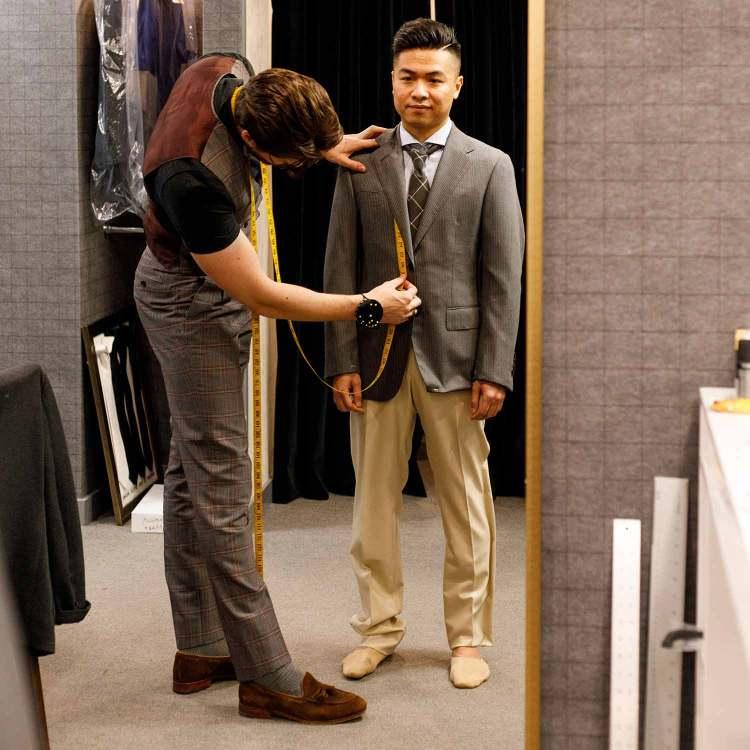 front jacket measurement
