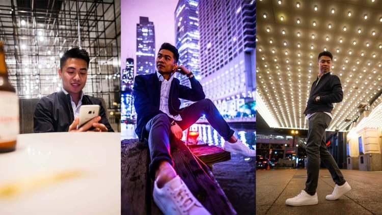 minimalism ocbd chinos sneakers