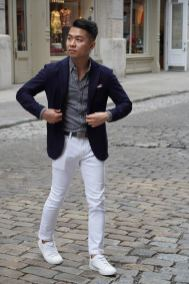 white sneakers with jeans outfit 6