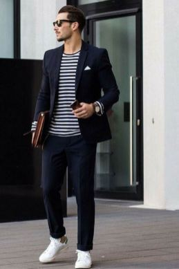 white sneakers with sport coat outfit 2