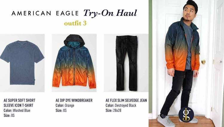 american eagle review try on haul outfit 3