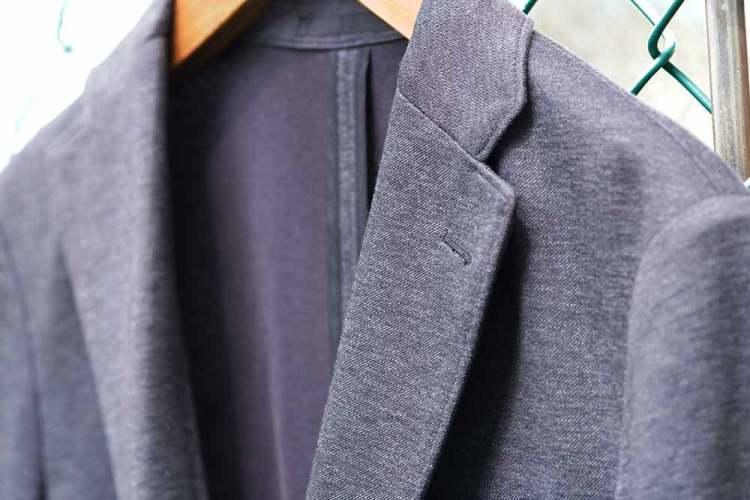 comfort jacket notch lapels