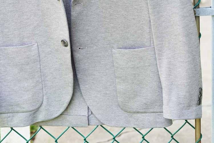 comfort jacket patch pockets