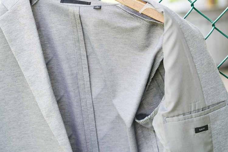 comfort jacket quarter lining light gray