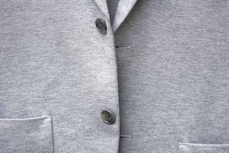 jersey knit blazer 2 buttons