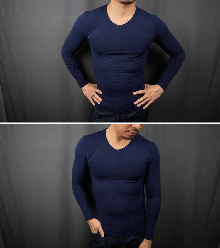 tani silkcut thermal underwear fit