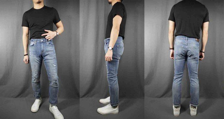 express hyper stretch slim jeans 1