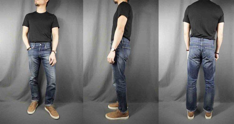 uniqlo stretch selvedge slim jean 1